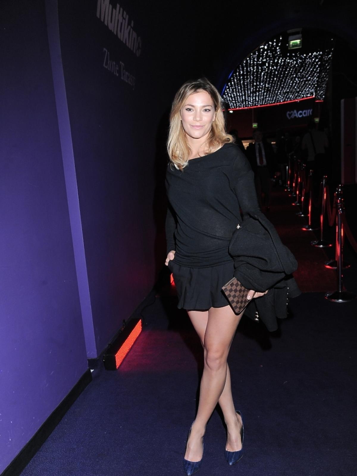Maja Bohosiewicz na premierze filmu Bogowie