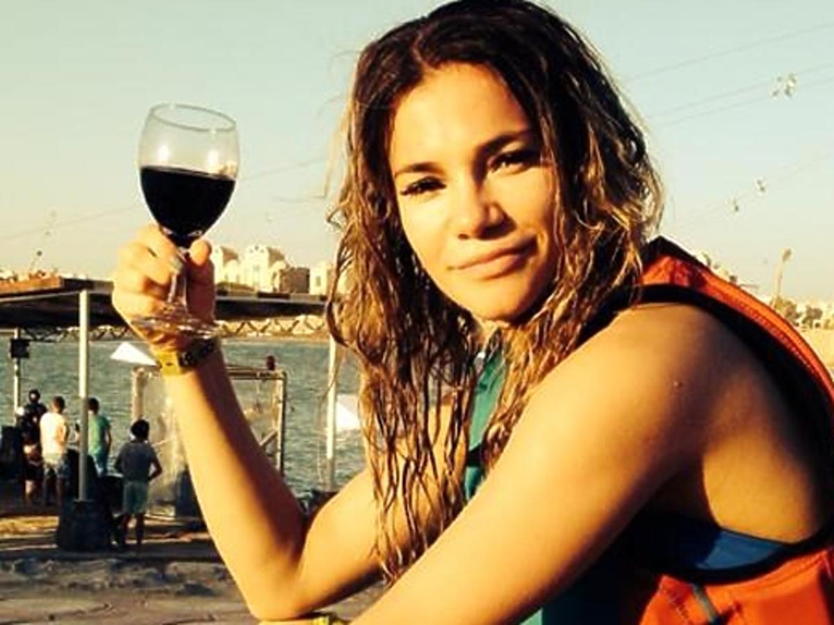 Maja Bohosiewicz na wakacjach