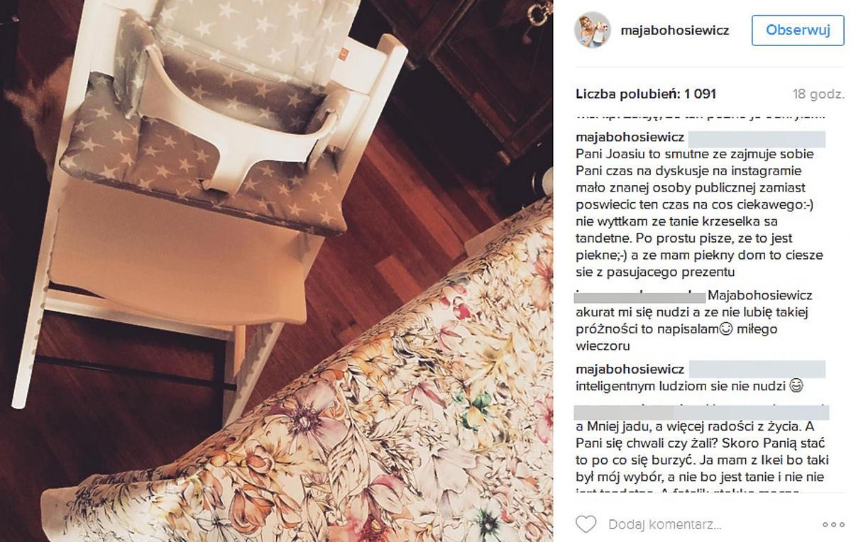 Maja Bohosiewicz pochwaliła się prezentem dla dziecka