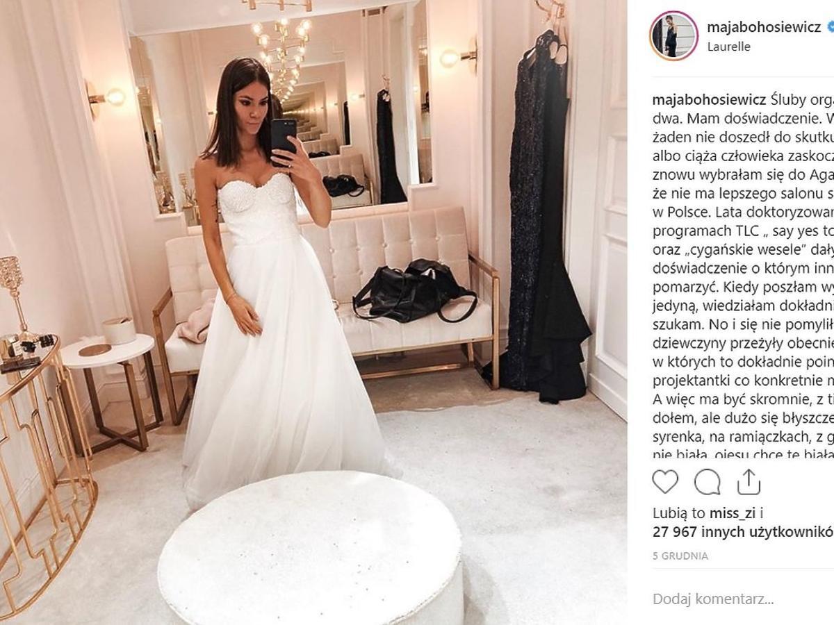 Maja Bohosiewicz szykuje się do ślubu