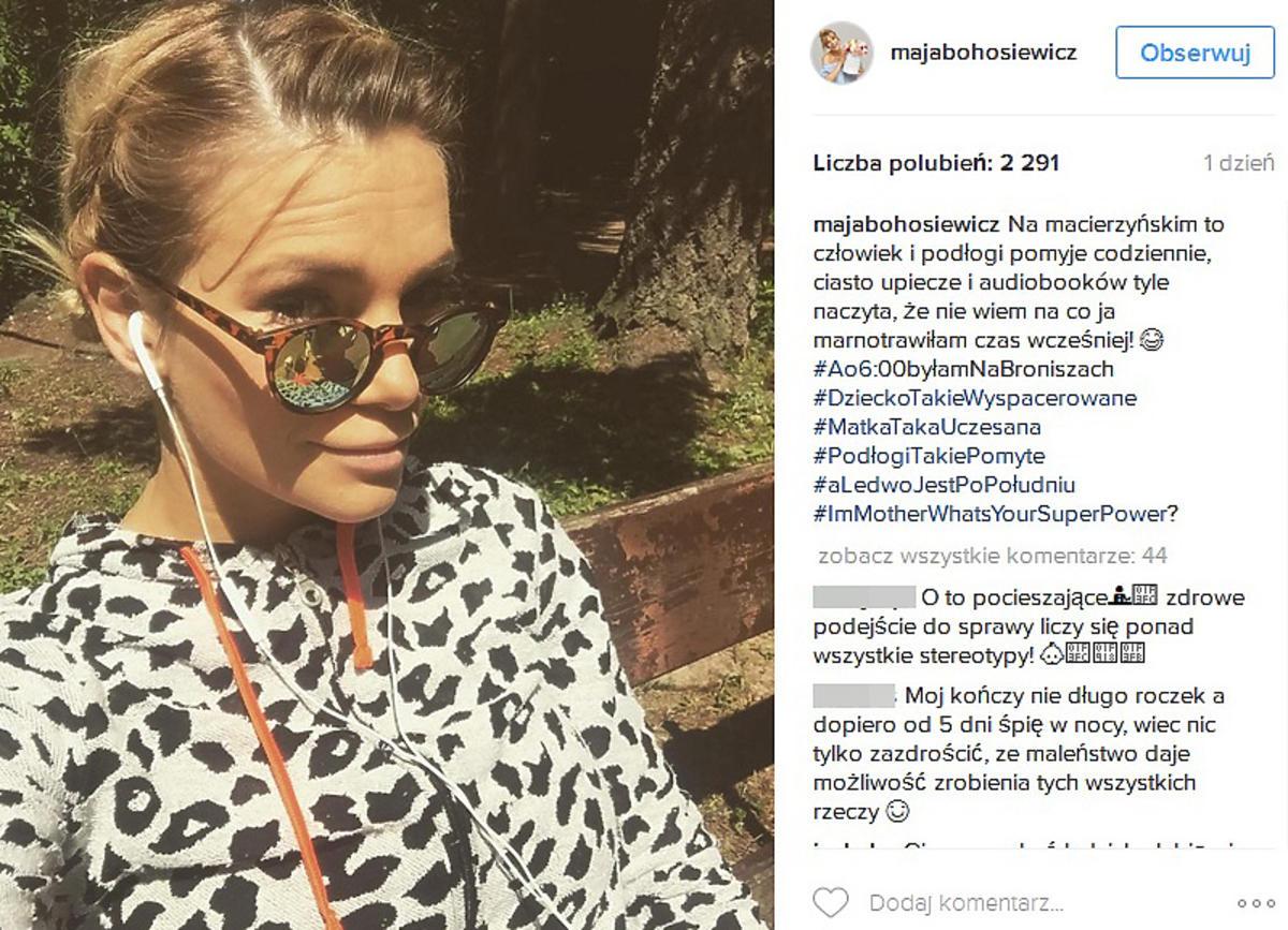 Maja Bohosiewicz zachwycona macierzyństwem