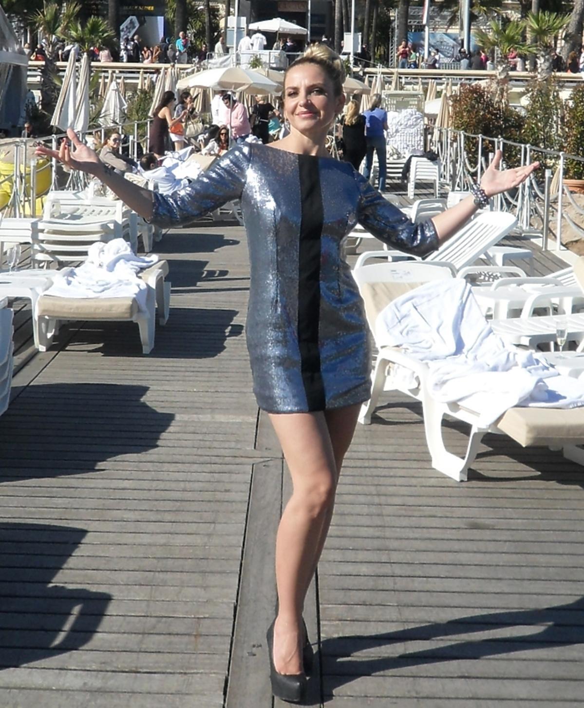 Maja Frykowska w Cannes. Frytka w Cannes
