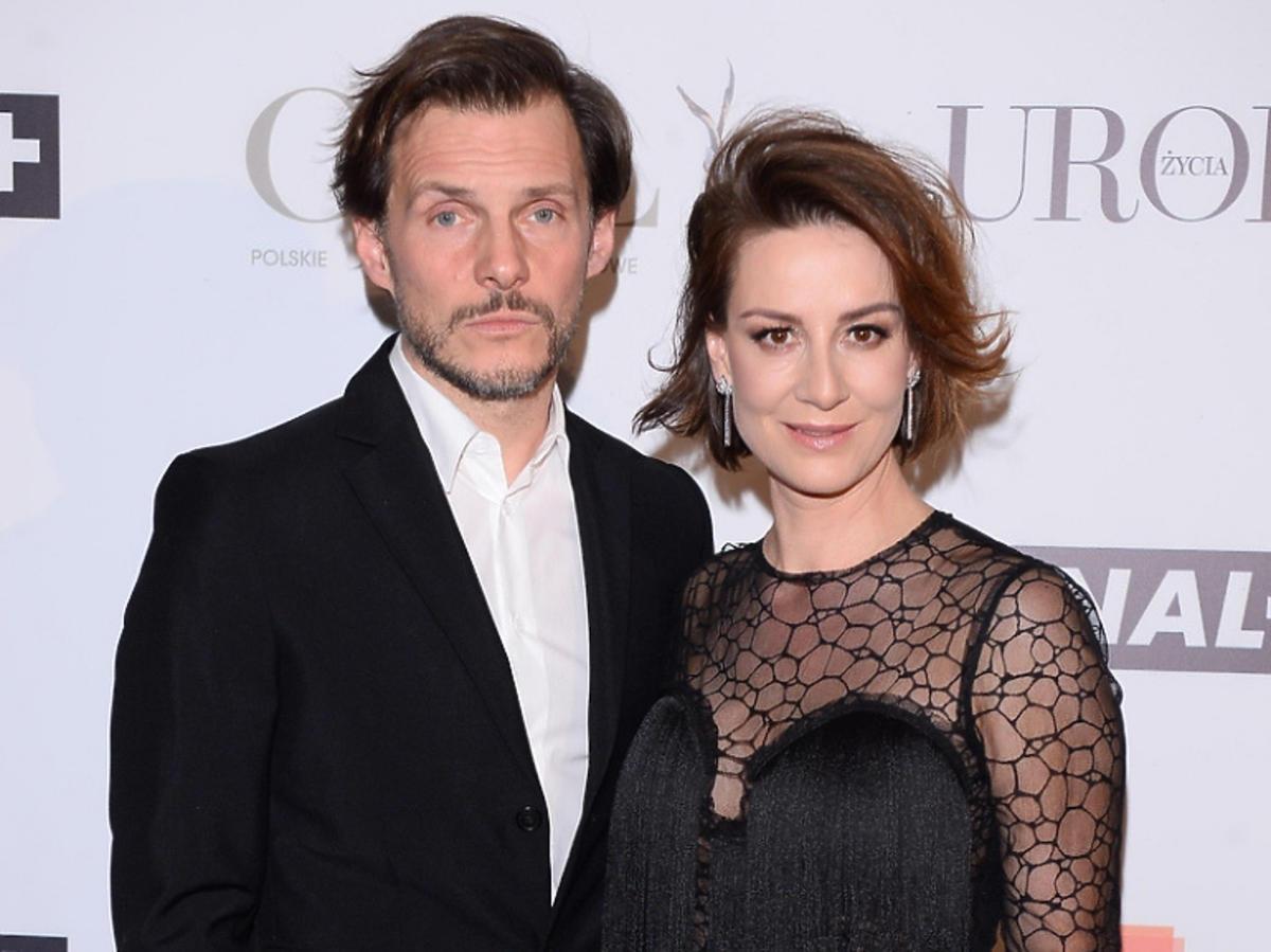 Maja Ostaszewska i Michał Englert