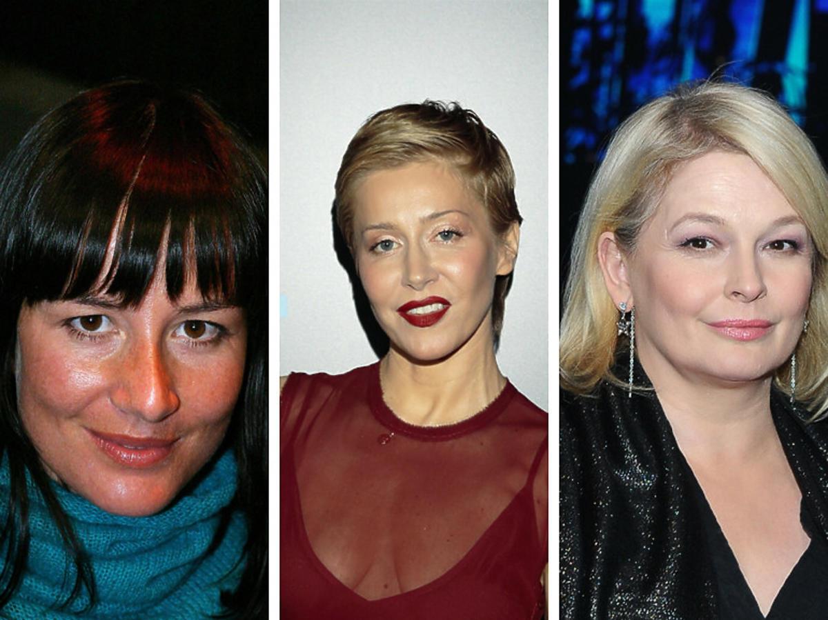 Maja Ostaszewska, Kasia Warnke i Dominika Ostałowska