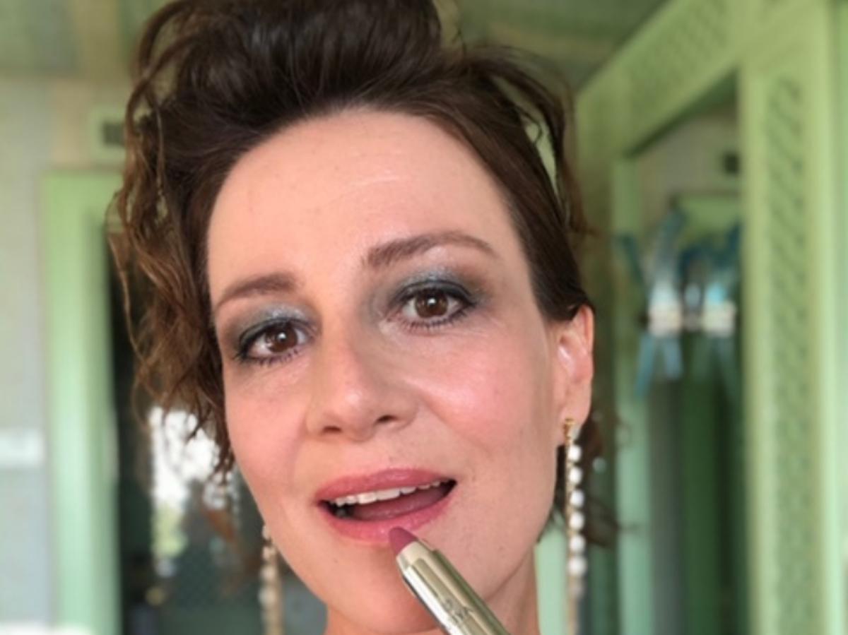 Maja Ostaszewska pomadka Miya Cosmetics