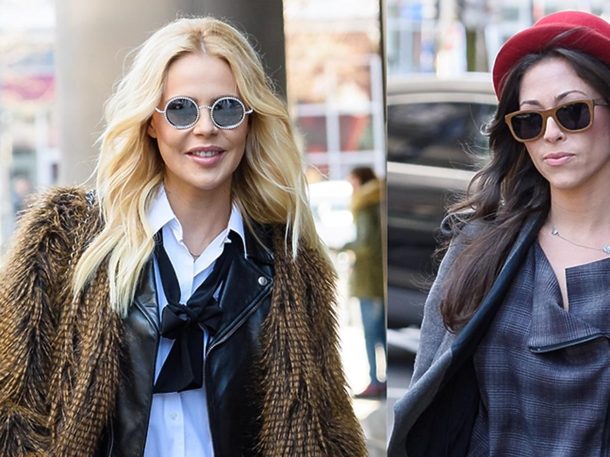 Maja Sablewska i Natalia Kukulska w stylowych ulicznych stylizacjach