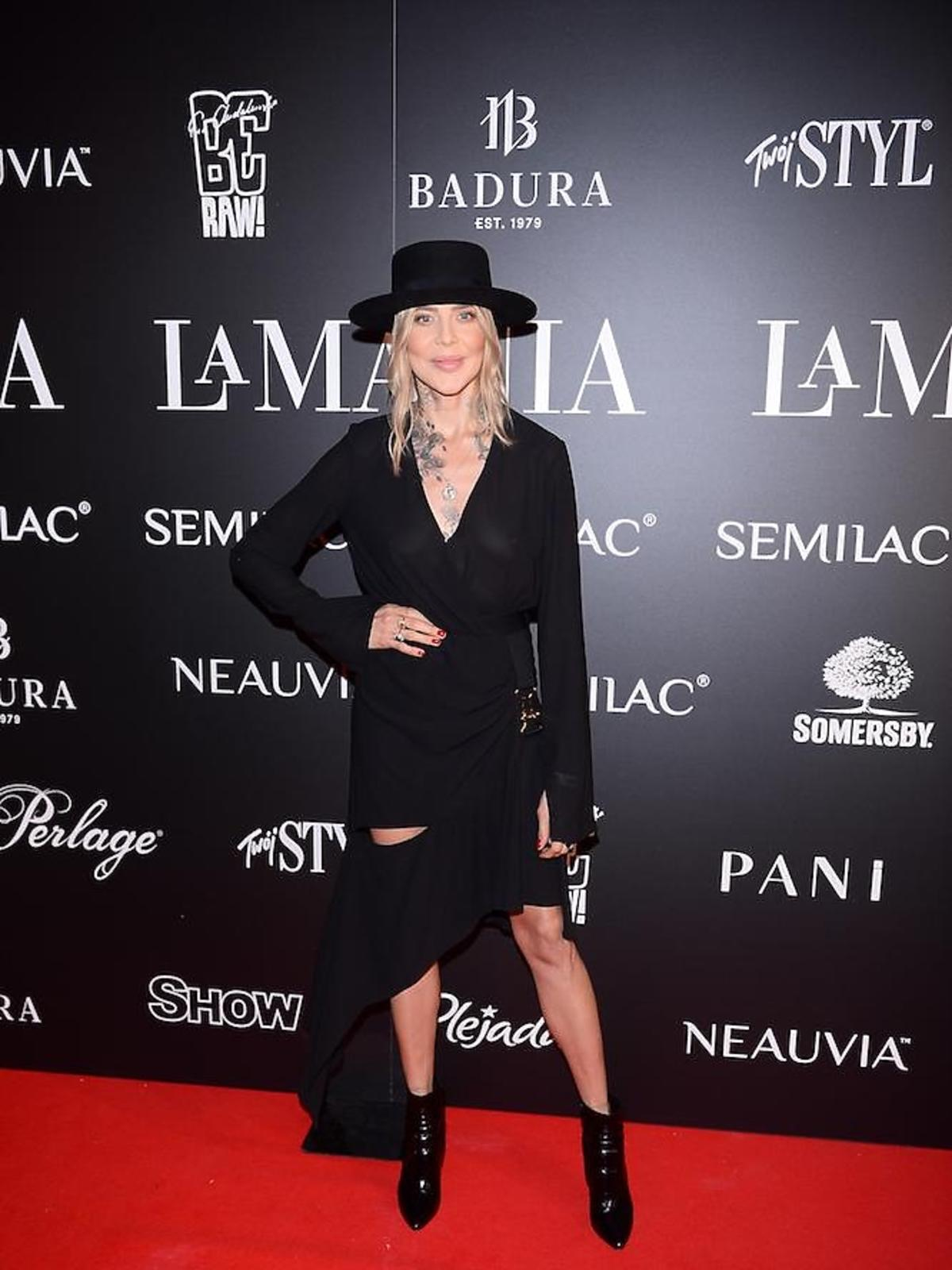 Maja Sablewska na imprezie La Manii