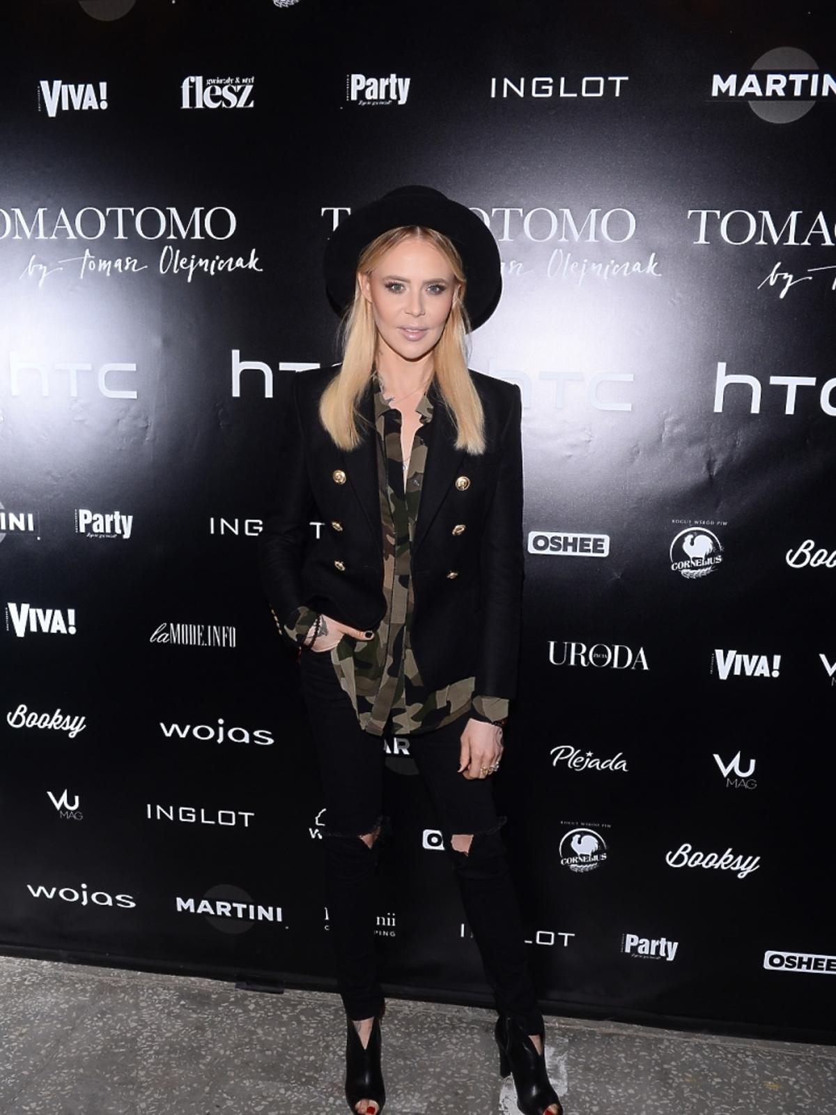 Maja Sablewska na pokazie Tomaotomo
