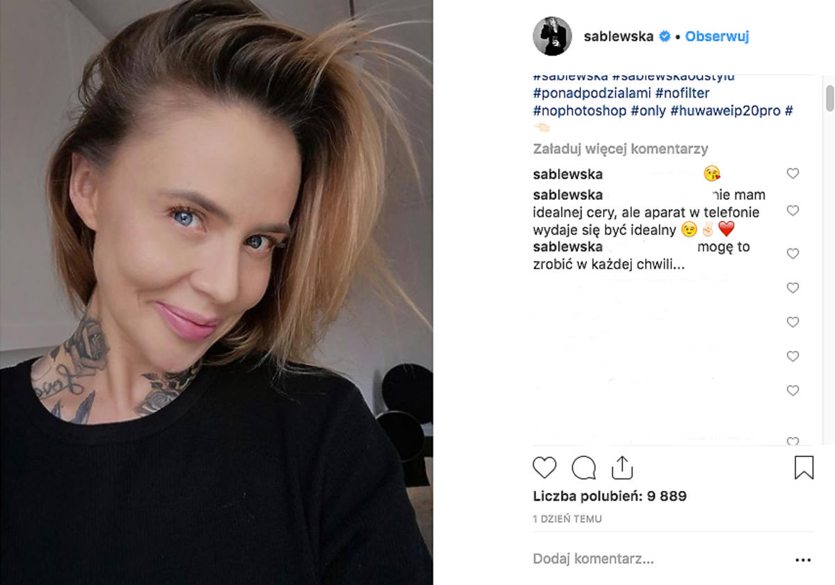Maja Sablewska odpowiada