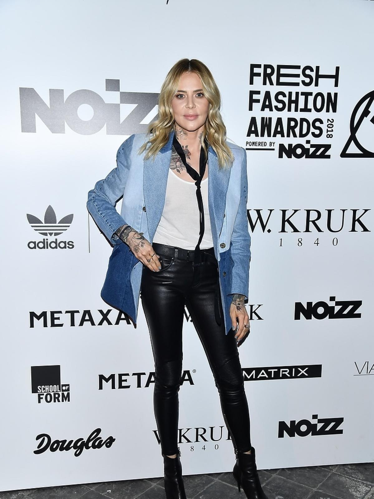 Maja Sablewska podczas finału Fresh Fashion Awards powered by Noizz