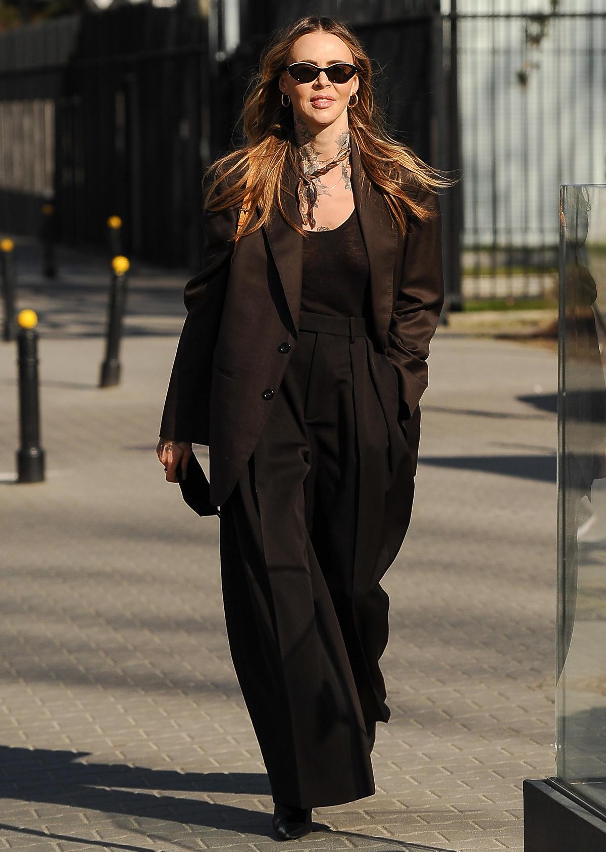 Maja Sablewska, zdjęcie uliczne