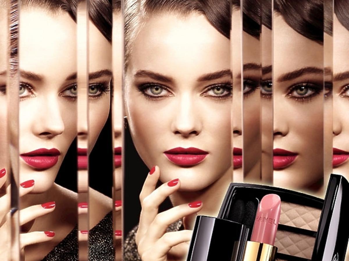 Makijaż Chanel - kolekcja święta 2013