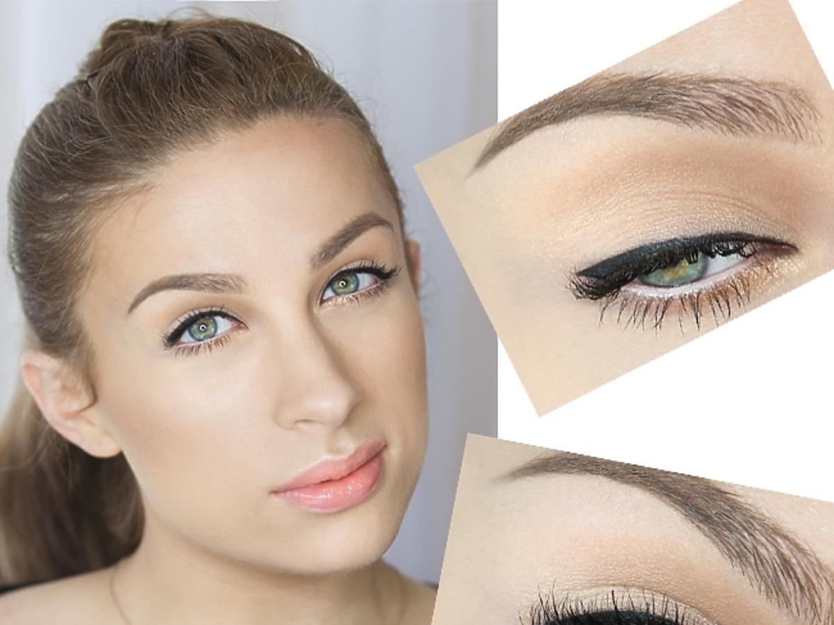 Makijaż dla daleko osadzonych oczu