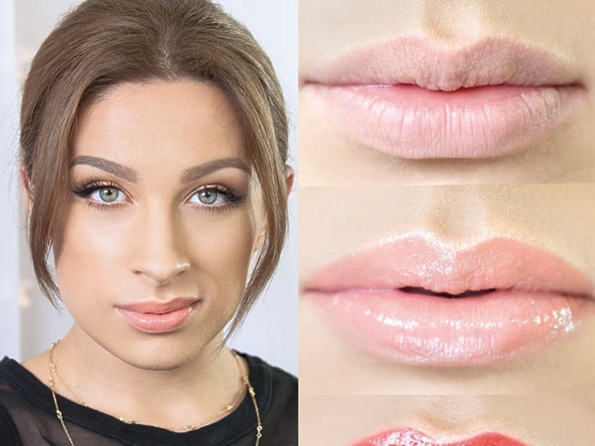 Makijaż dla małych ust