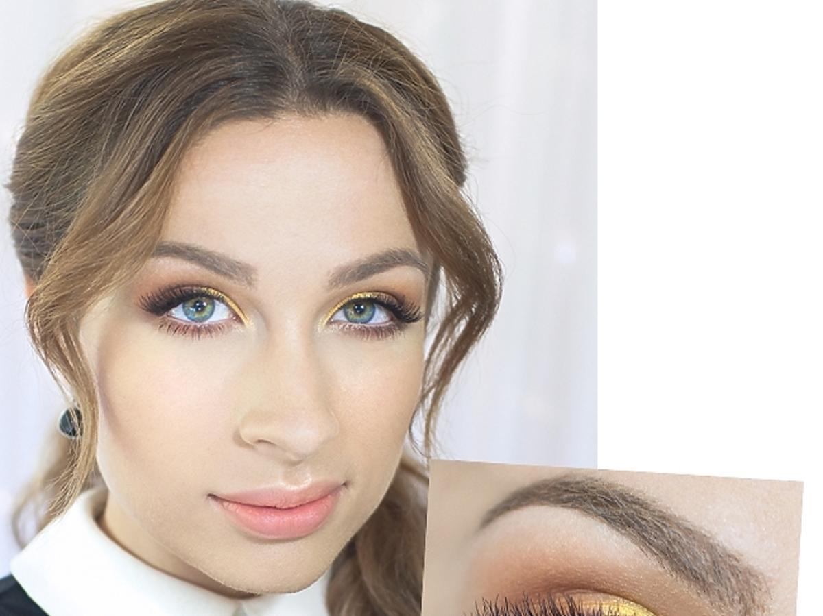 makijaż dla niebieskookich