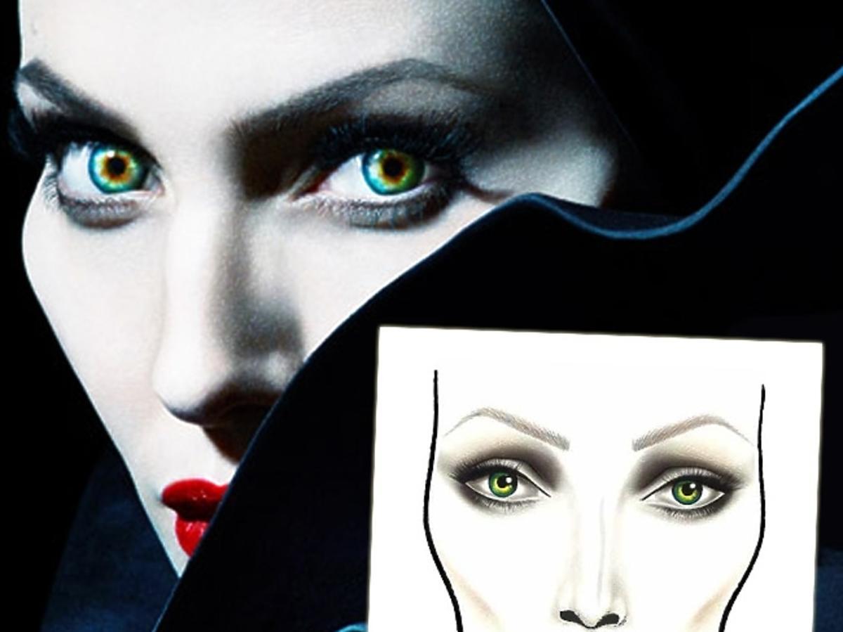 Makijaż z filmu Maleficent - Angelina Jolie - MAC Cosmetics