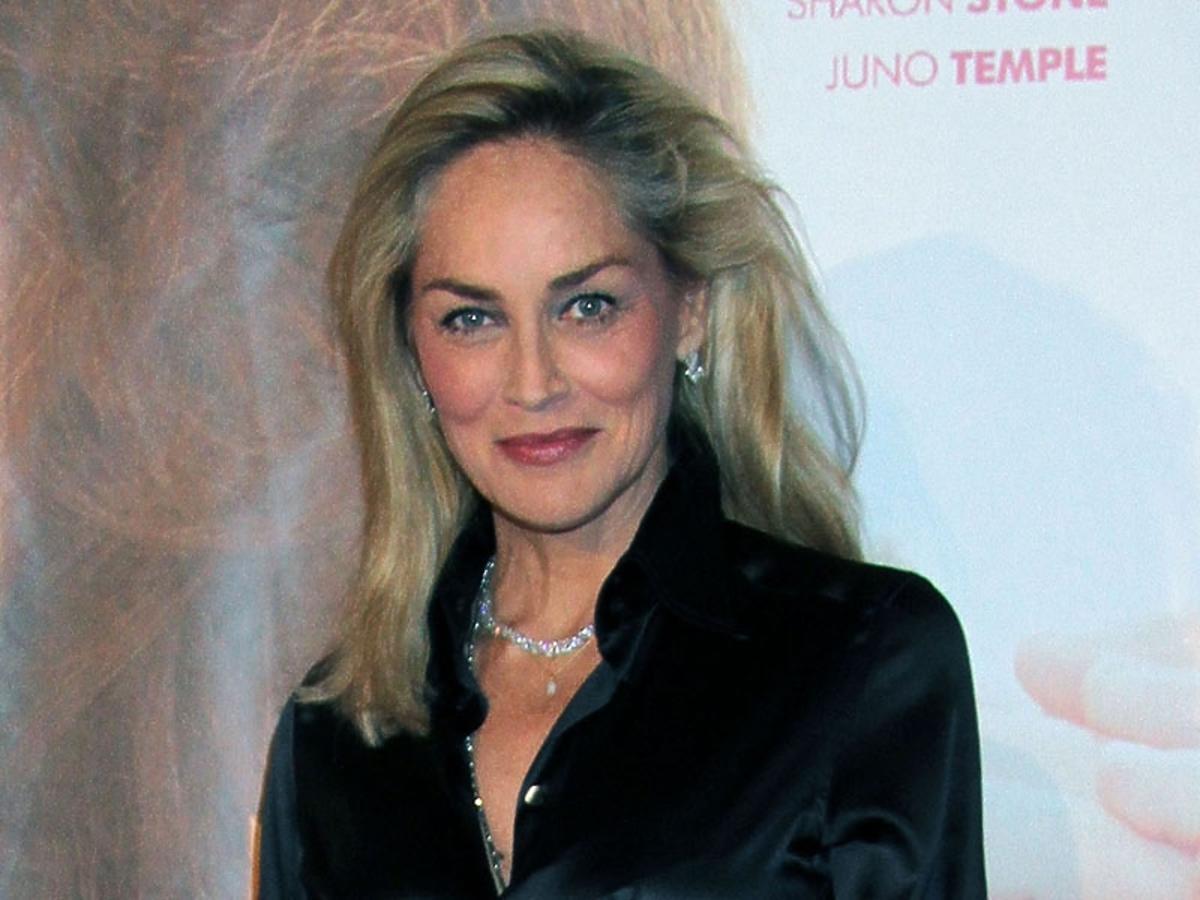 makijaże gwiazd, Sharon Stone