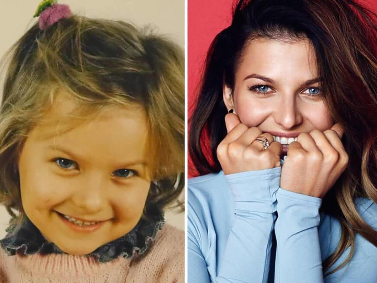 Mała Ania Lewandowska, porównanie z instagramowego profilu Ani