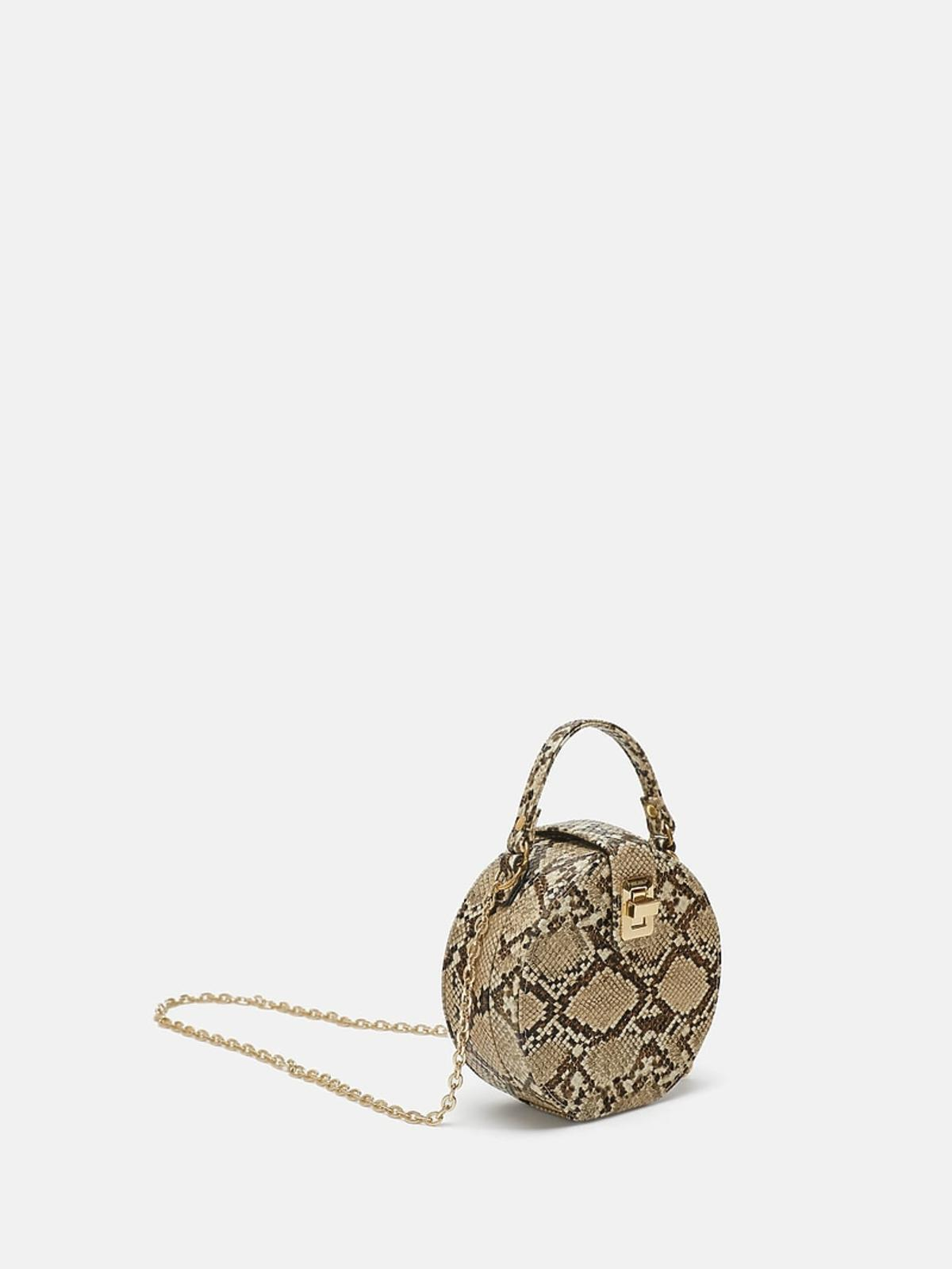Mała torebka na ramię Zara cena 159,90 zł.