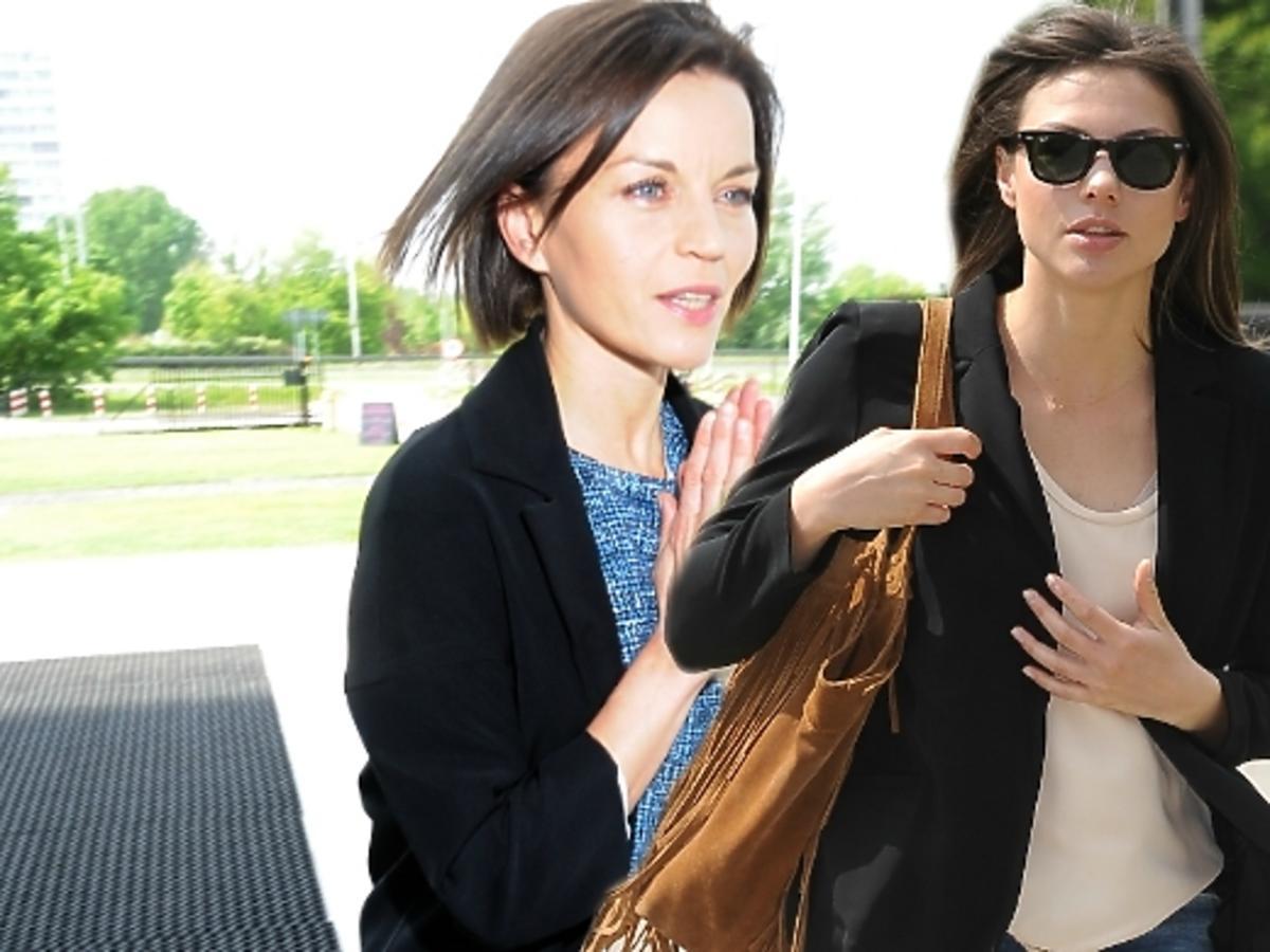 Małgorzata Foremniak i Karolina Gorczyca w drodze na konferencje