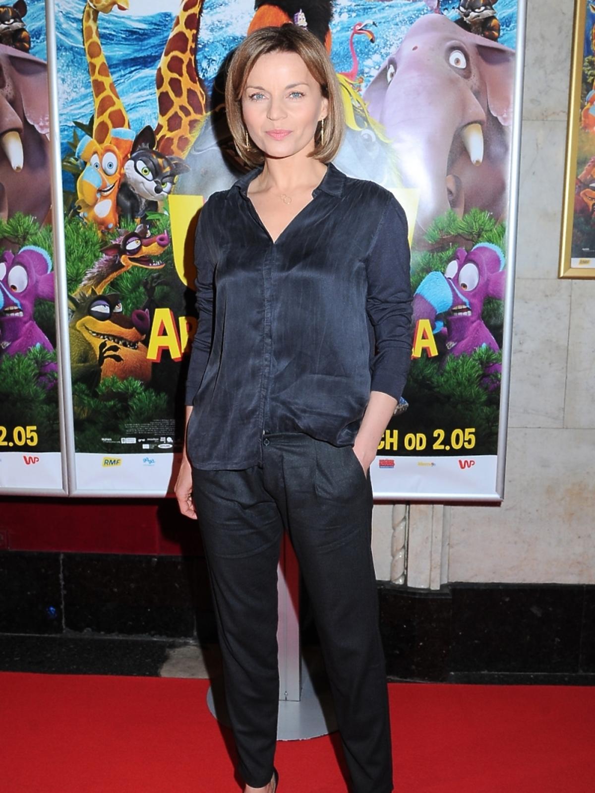 Małgorzata Foremniak na premierze filmu