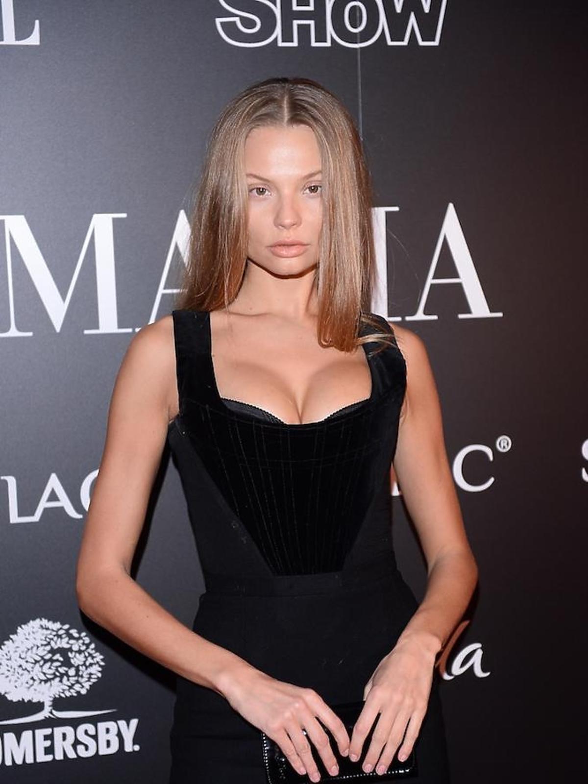 Małgorzata Frąckowiak na imprezie La Manii