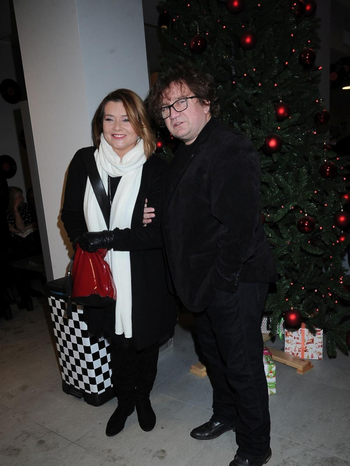 Małgorzata i Paweł Królikowscy na premierze w Teatrze Kwadrat