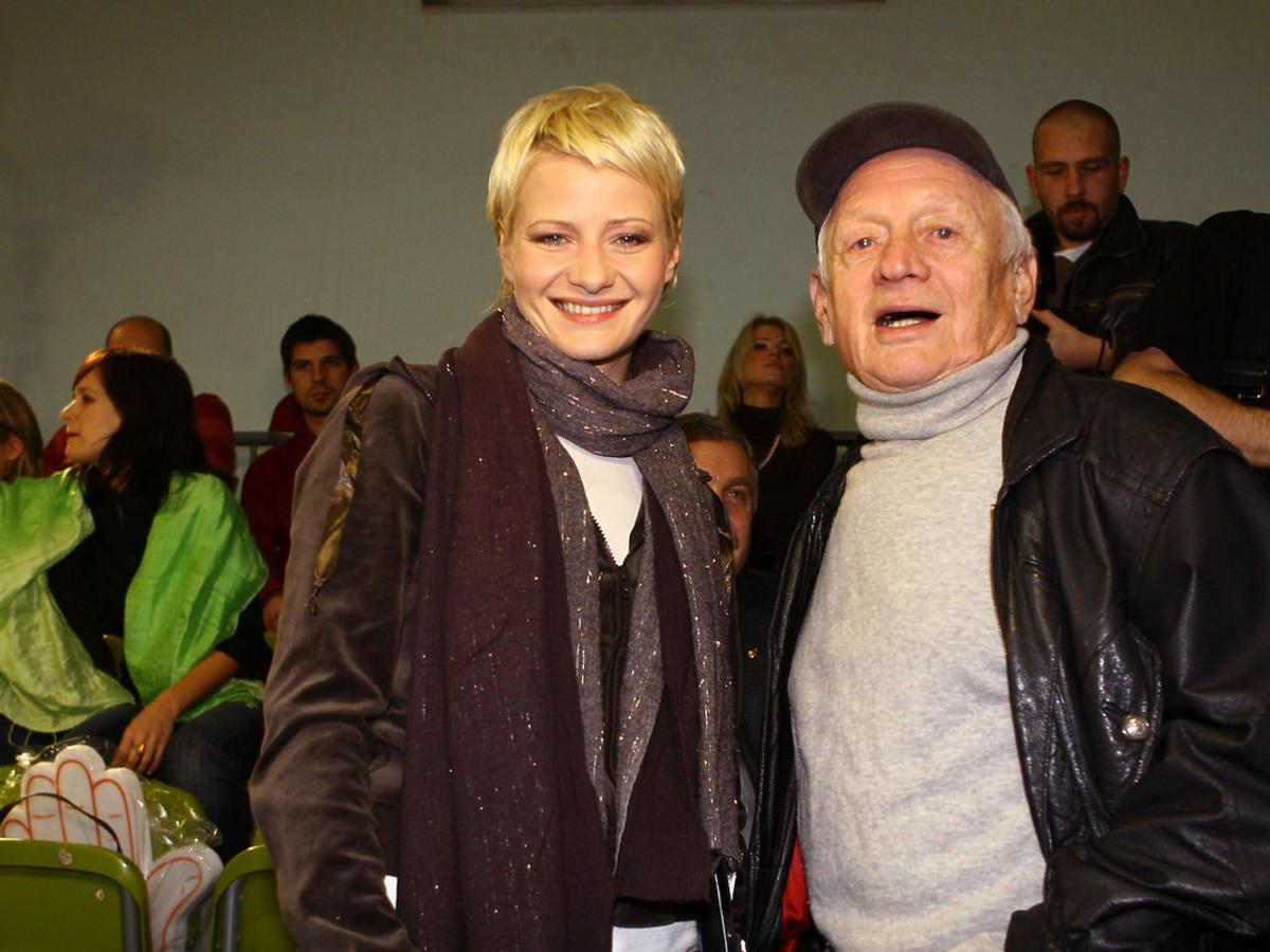 Małgorzata Kożuchowska i Witold Pyrkosz 2006