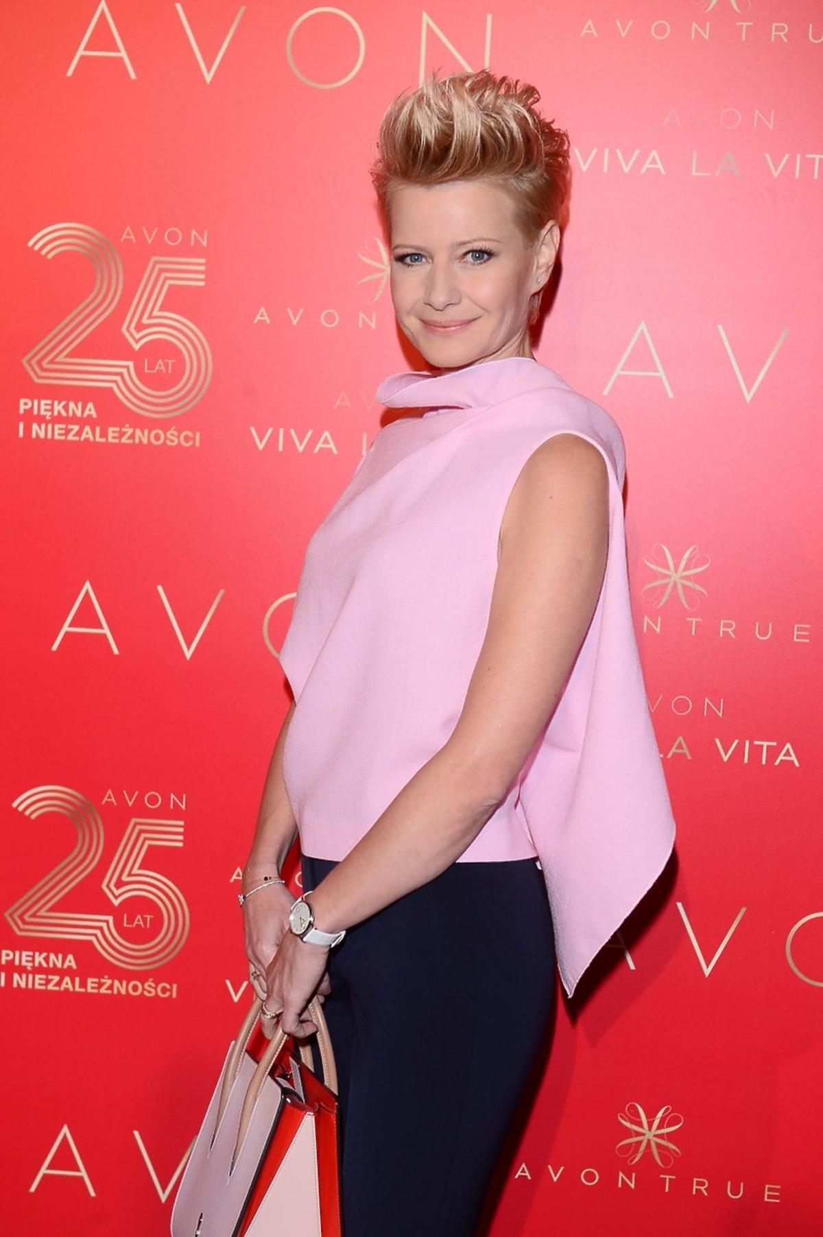 Małgorzata Kożuchowska na 25-leciu marki AVON