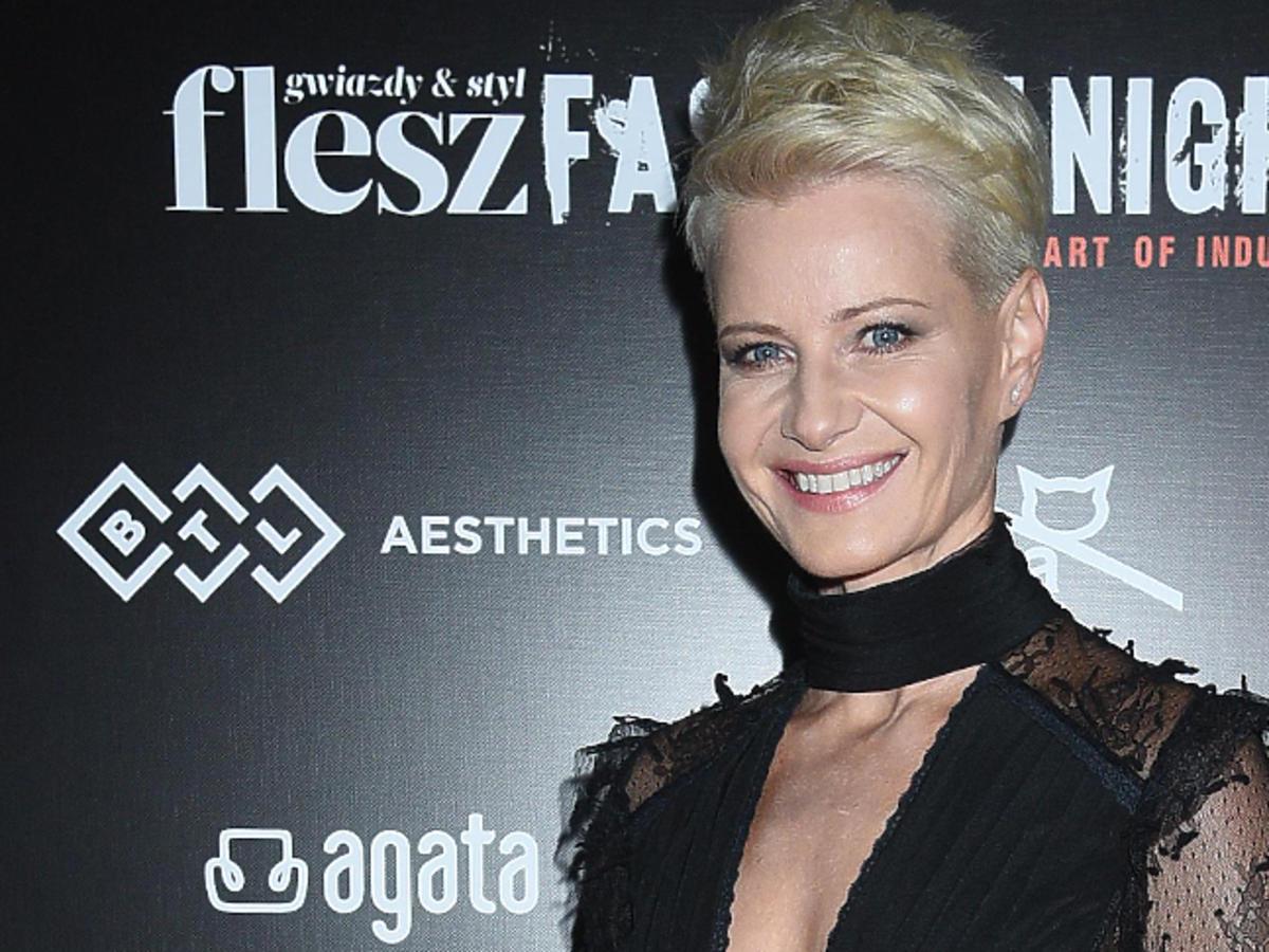 Małgorzata Kożuchowska na Flesz Fashion Night 2018