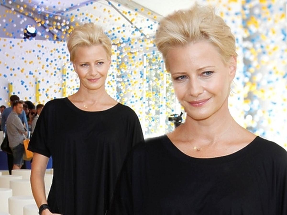Małgorzata Kożuchowska na prezentacji ramówki TVN jesień 2013
