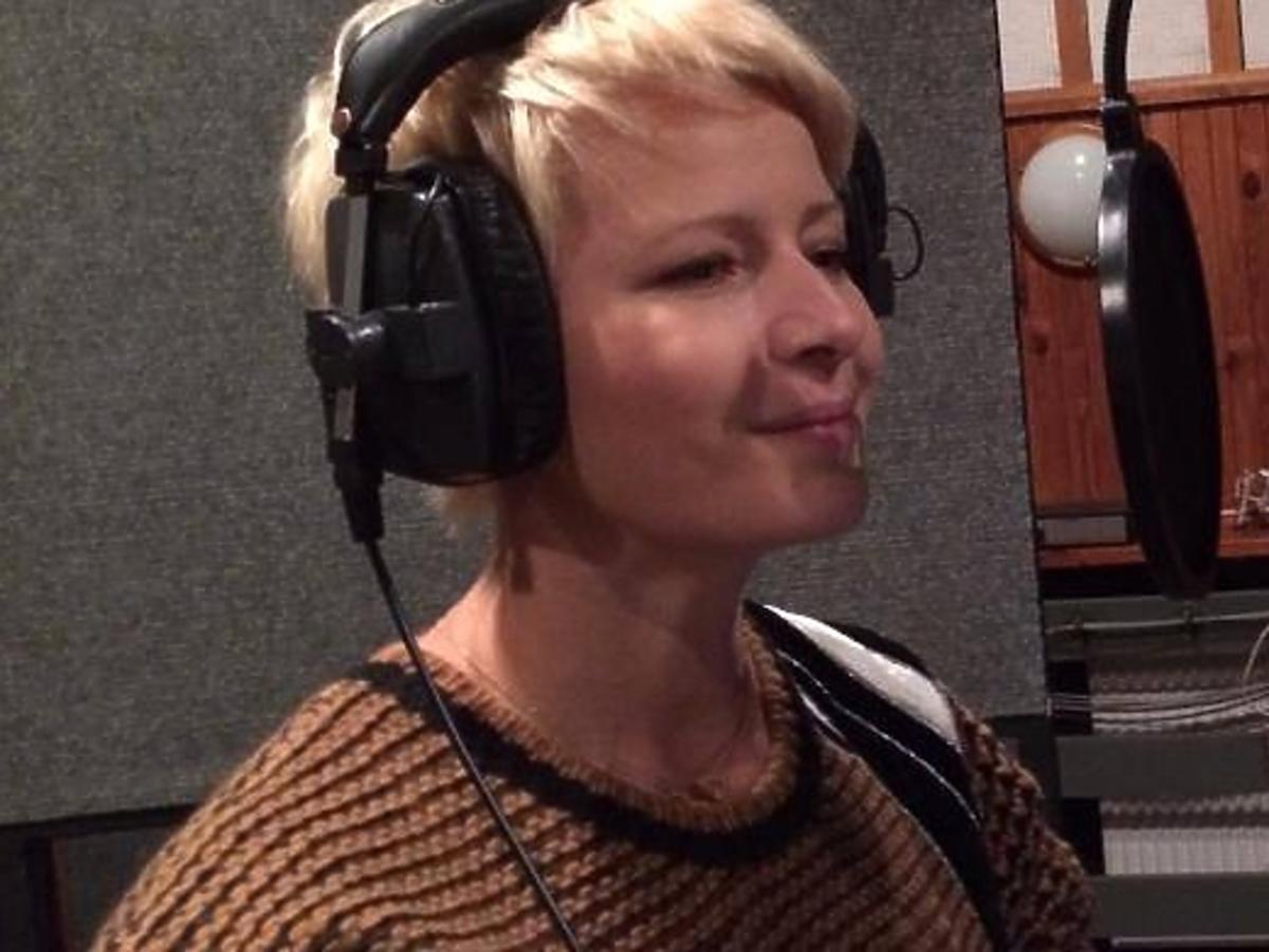 Małgorzata Kożuchowska nagrywa piosenki dla dzieci