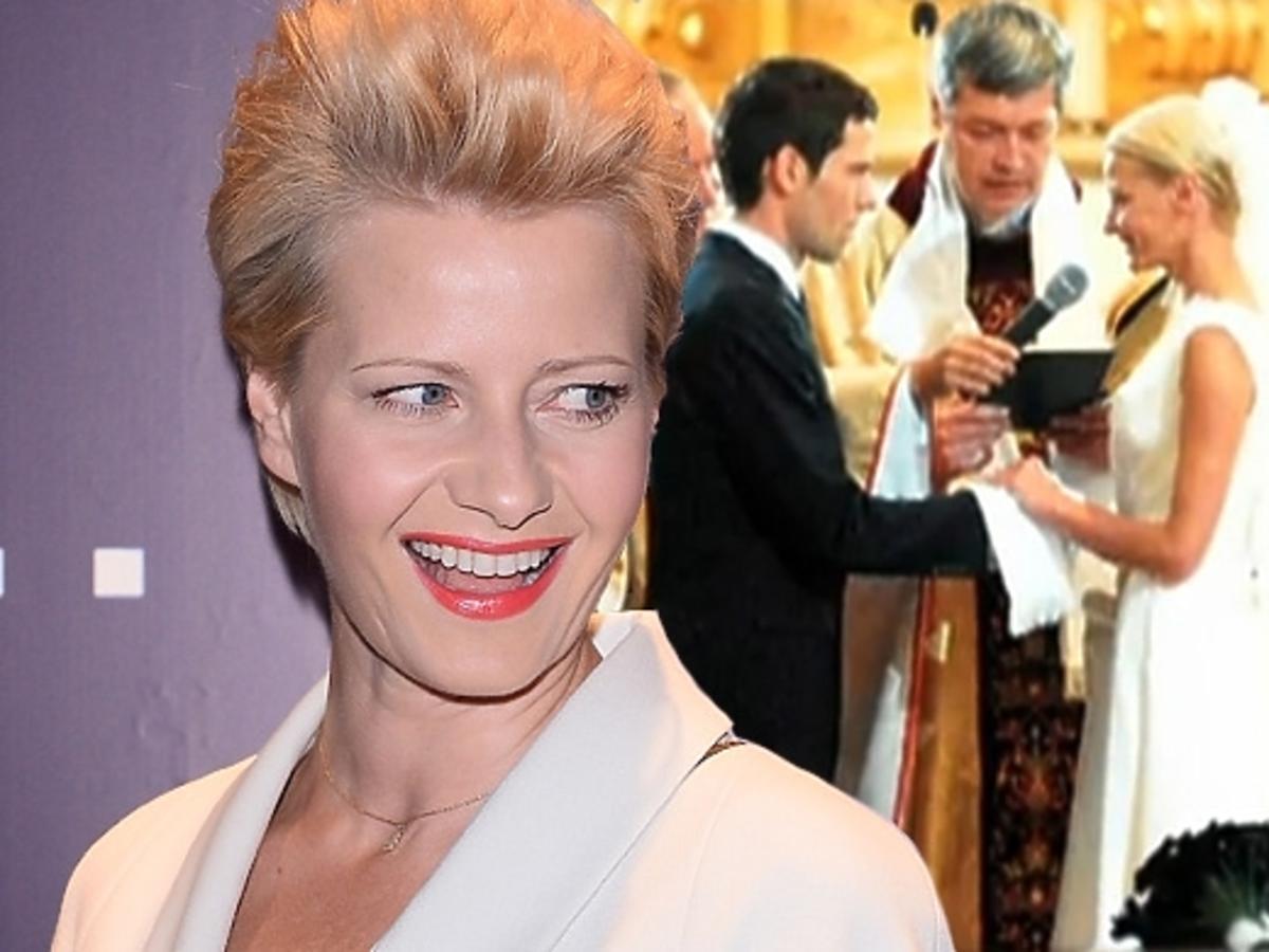 Małgorzata Kożuchowska o swoim ślubie