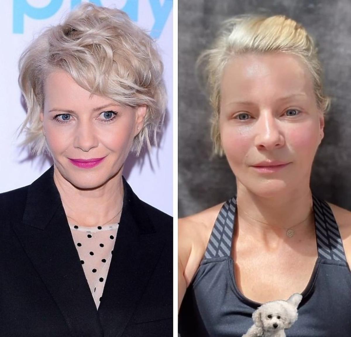 Małgorzata Kożuchowska pokazała się bez makijażu