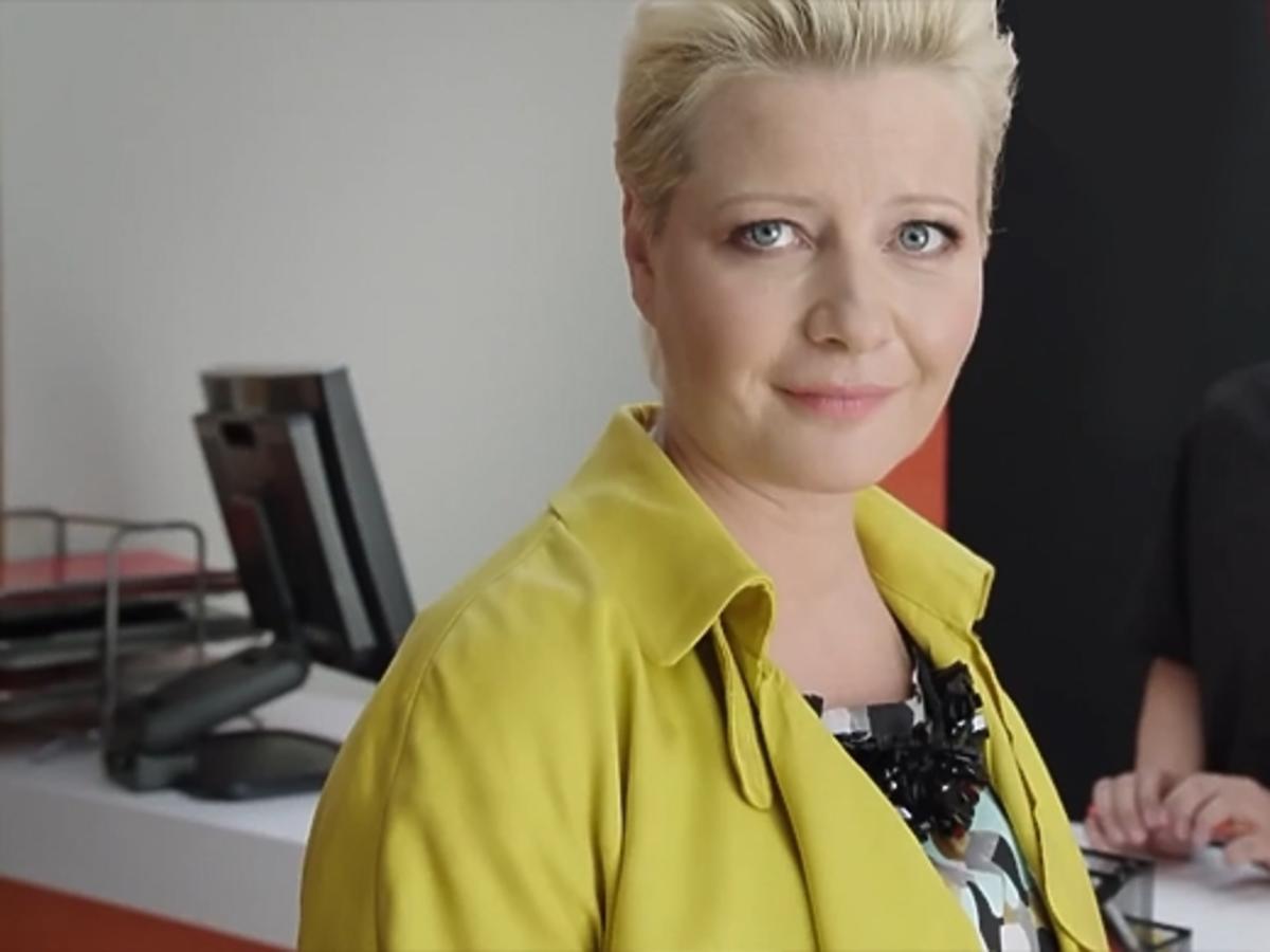 Małgorzata Kożuchowska w ciąży w reklamie