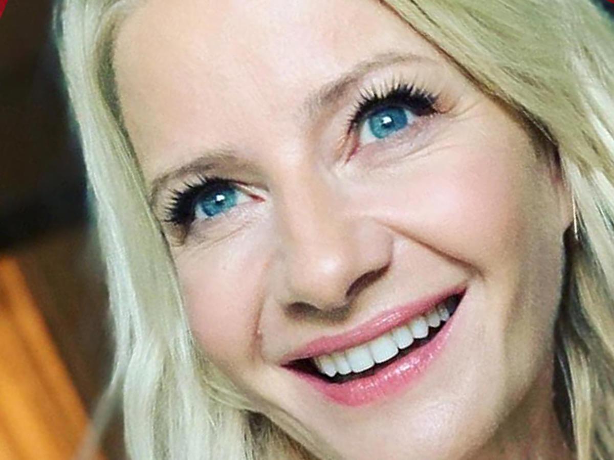 Małgorzata Kożuchowska w długich włosach