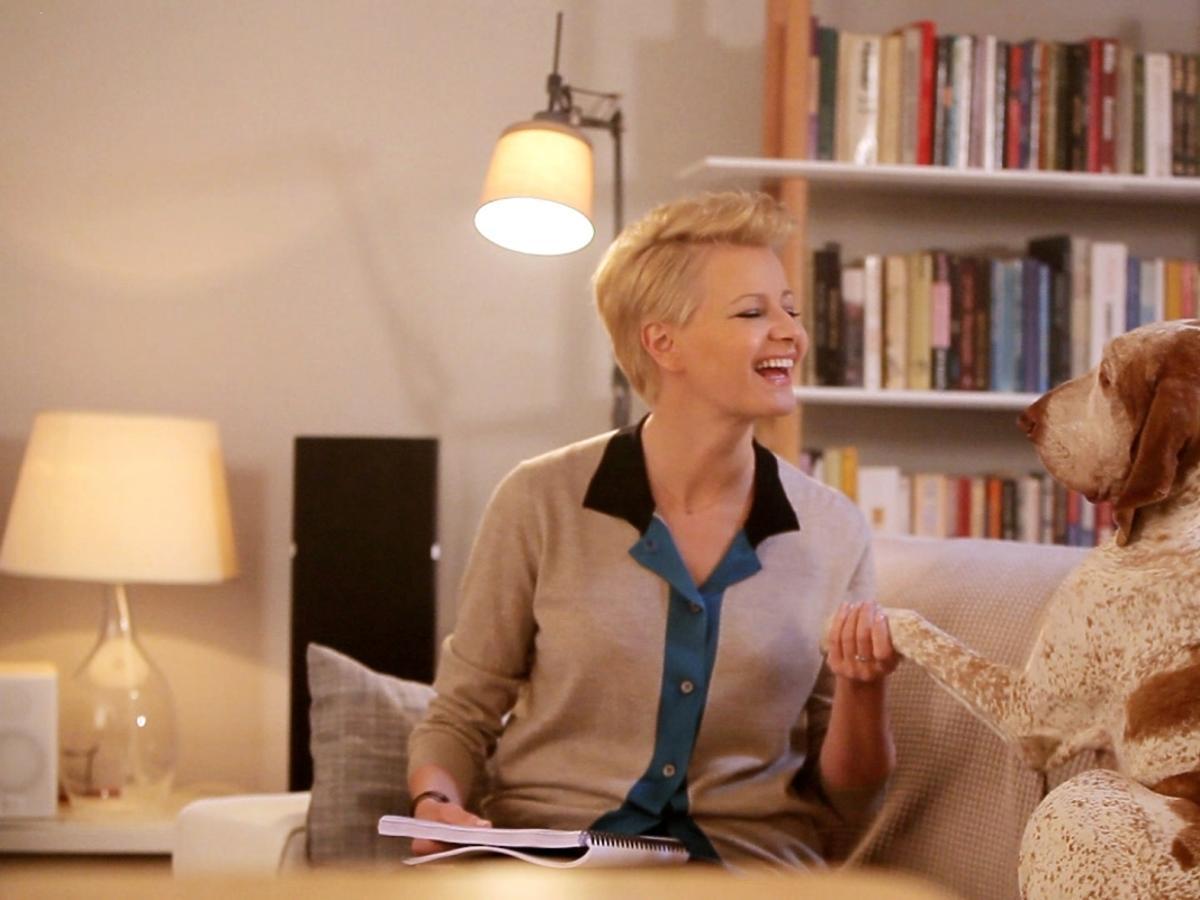 Małgorzata Kożuchowska w kampanii Avivy - kulisy