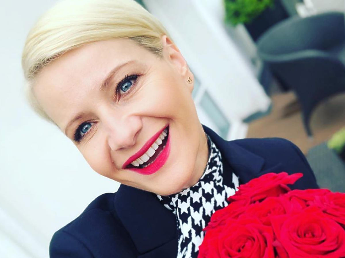 Małgorzata Kożuchowska w nowej fryzurze