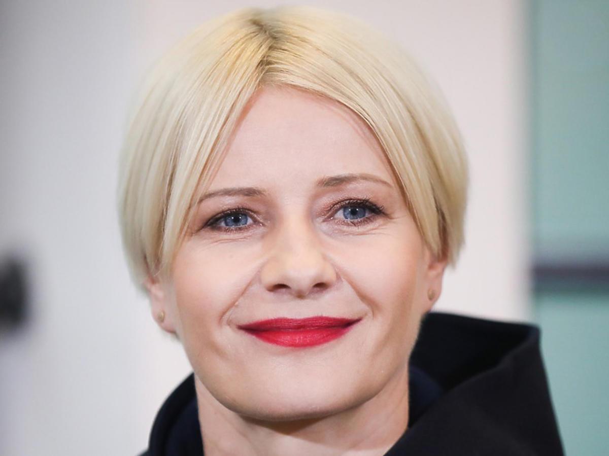 Małgorzata Kożuchowska w nowej fryzurze dłuższych włosach