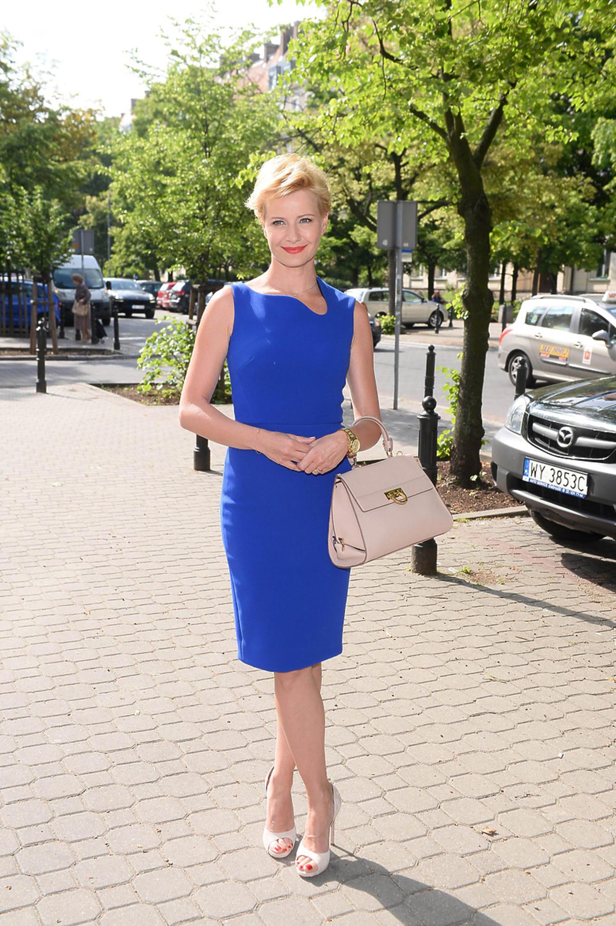 Małgorzata Kożuchowska w sukience za 10 tys.