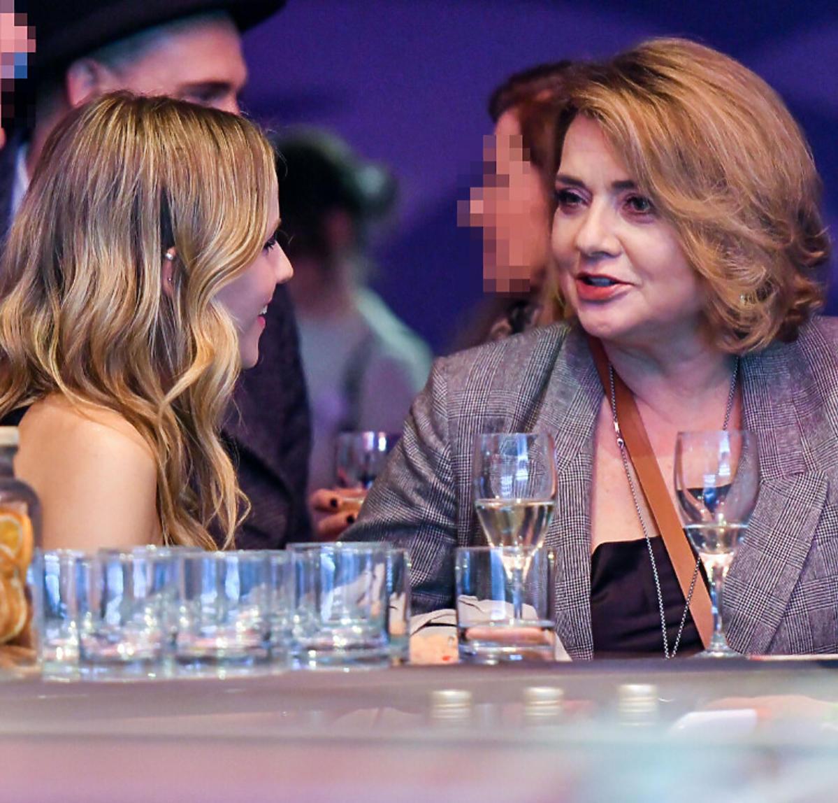 Małgorzata Ostrowska- Królikowska z partnerką syna