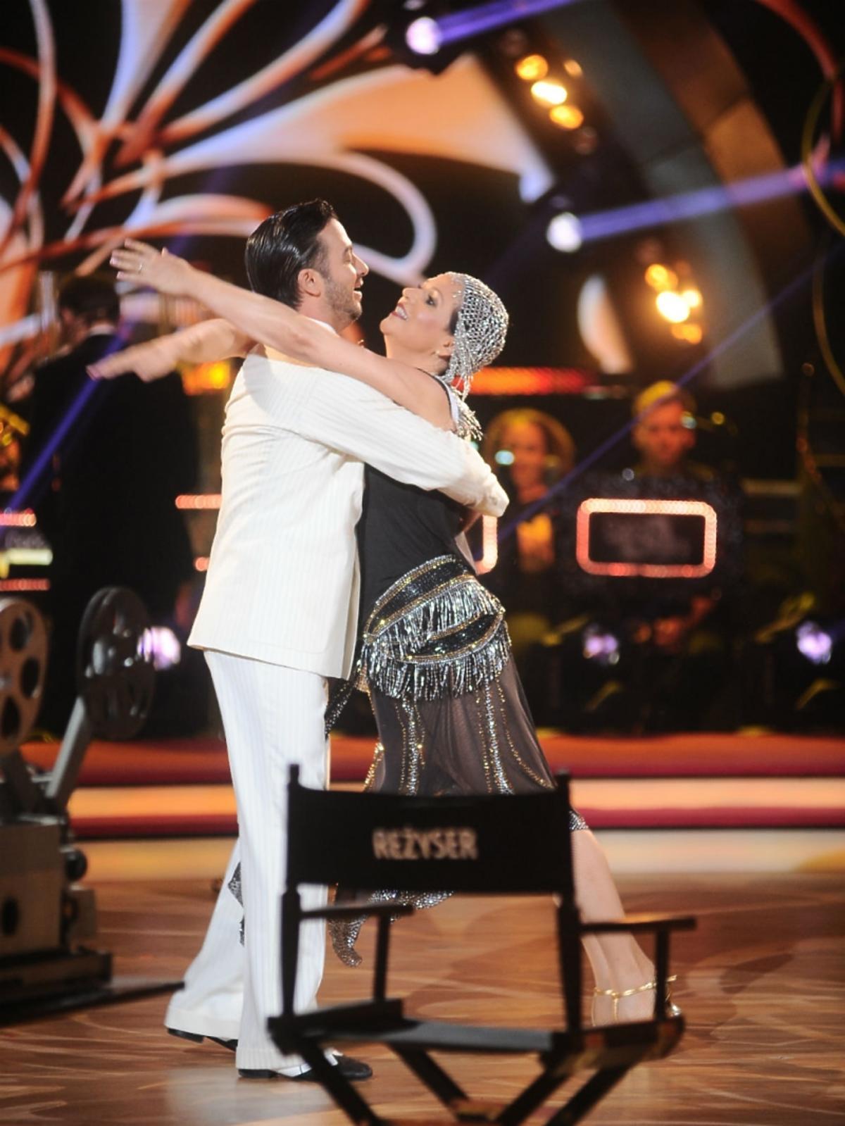 Małgorzata Pieńkowska i Stefano Terrazzino na parkiecie Tańca z Gwiazdami