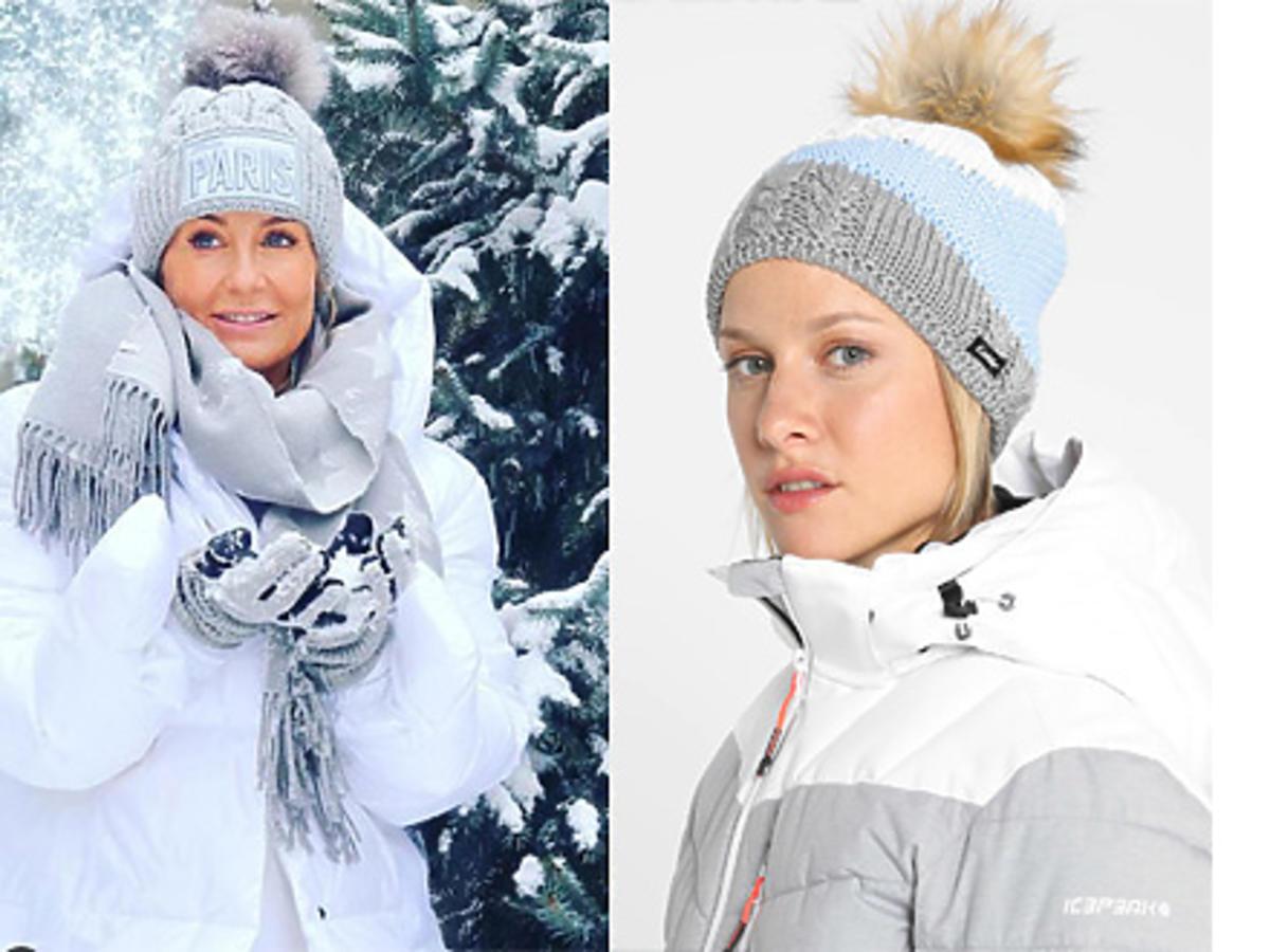 Małgorzata Rozenek czapki z pomponem