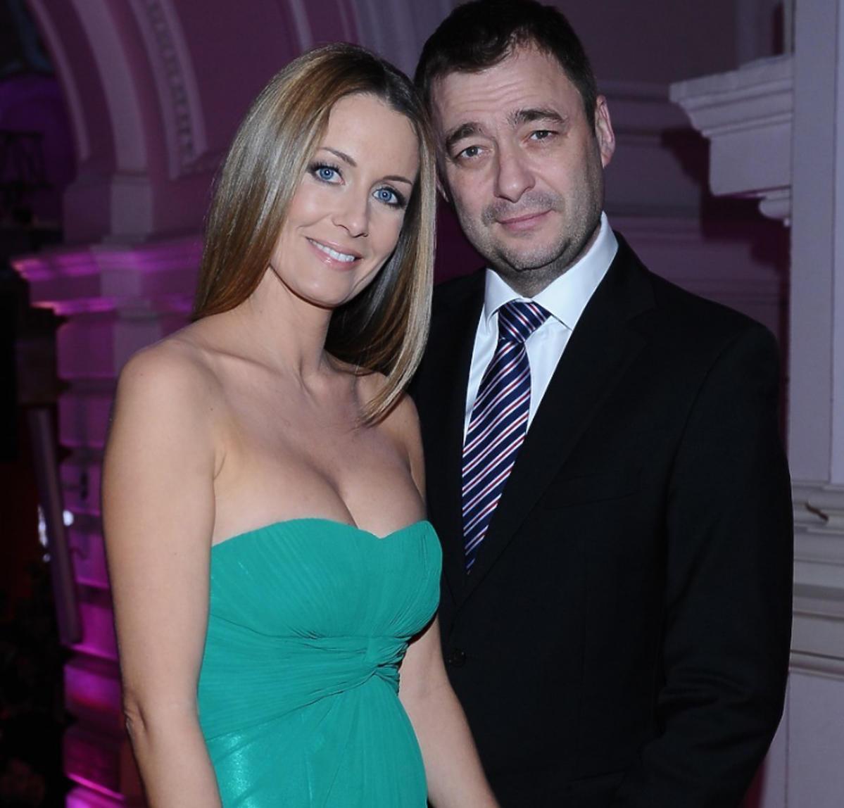 Małgorzata Rozenek i Jacek Rozenek na Balu Dziennikarzy