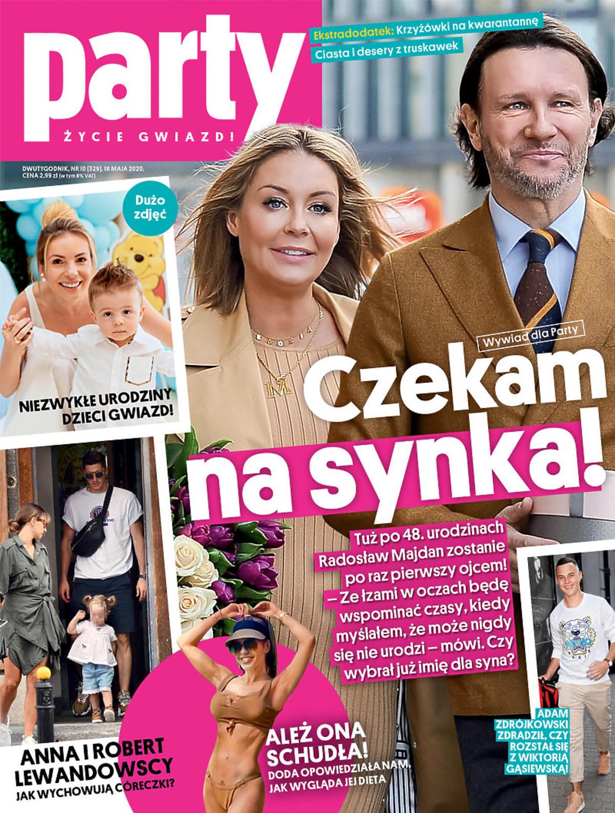 Małgorzata Rozenek i Radosław Majdan będą mieć syna. Okładka