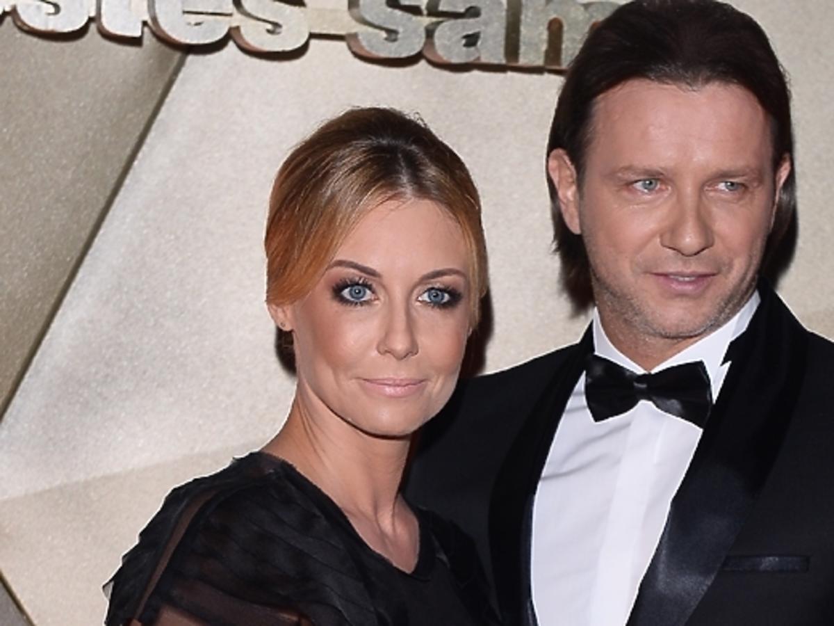 Małgorzata Rozenek i Radosław Majdan na Balu TVN