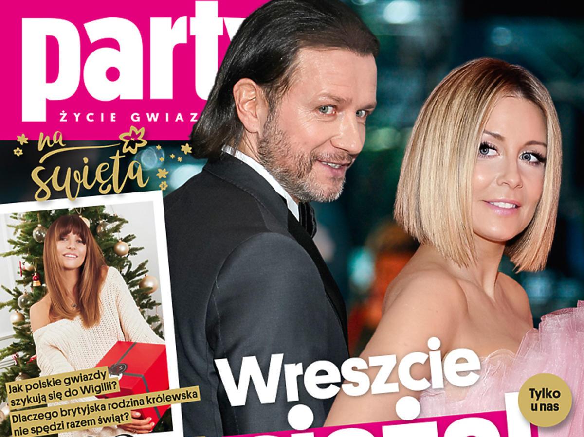 """Małgorzata Rozenek i Radosław Majdan na okładce """"Party""""!"""