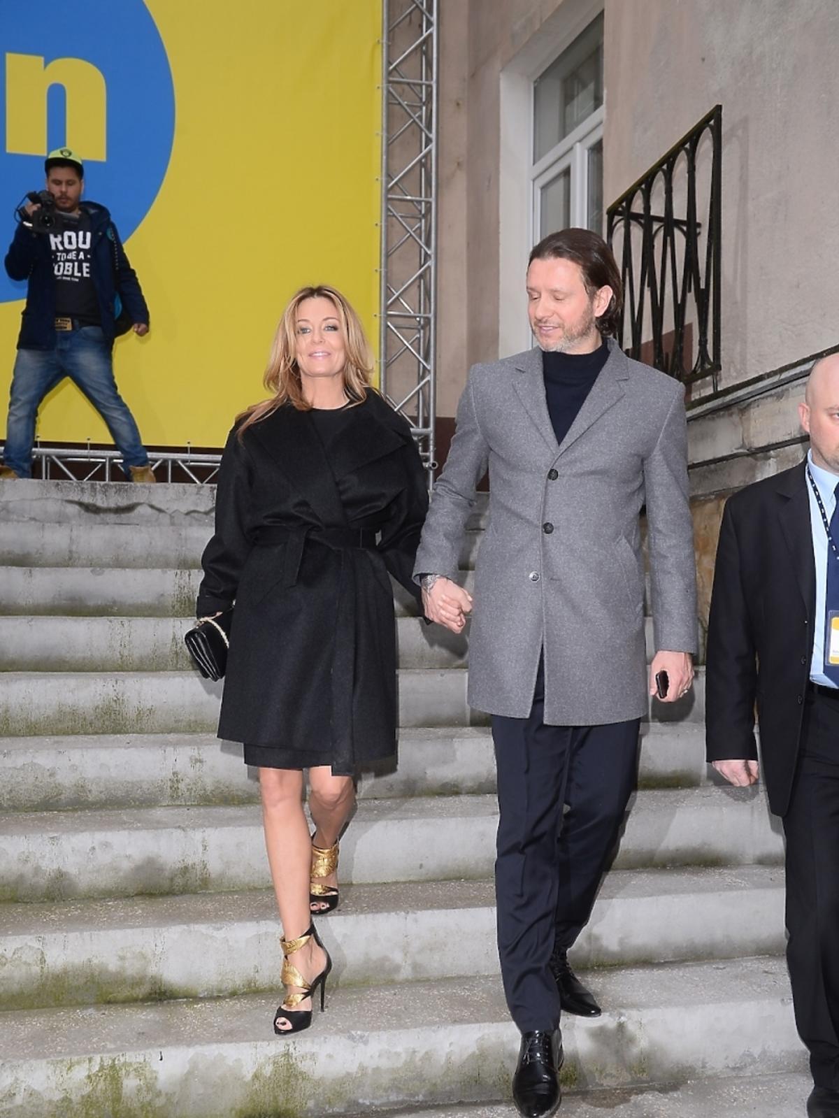 Małgorzata Rozenek i Radosław Majdan na ramówce wiosennej TVN 2015