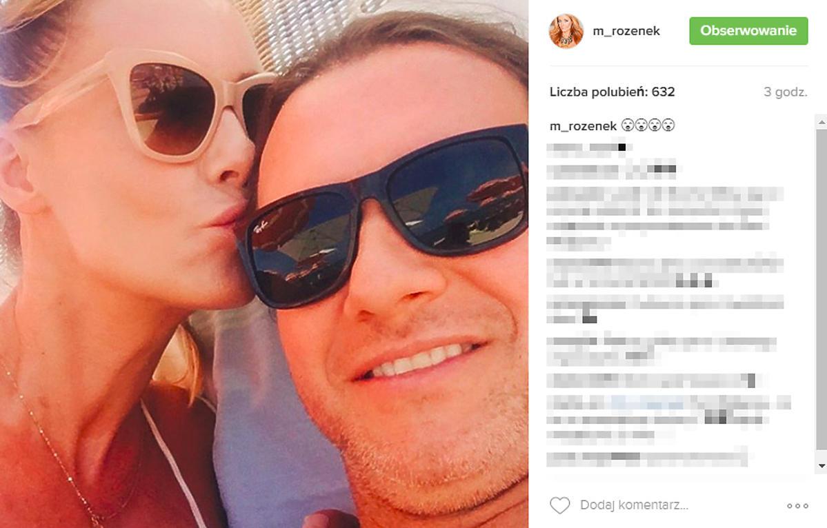 Małgorzata Rozenek i Radosław Majdan na wakacjach