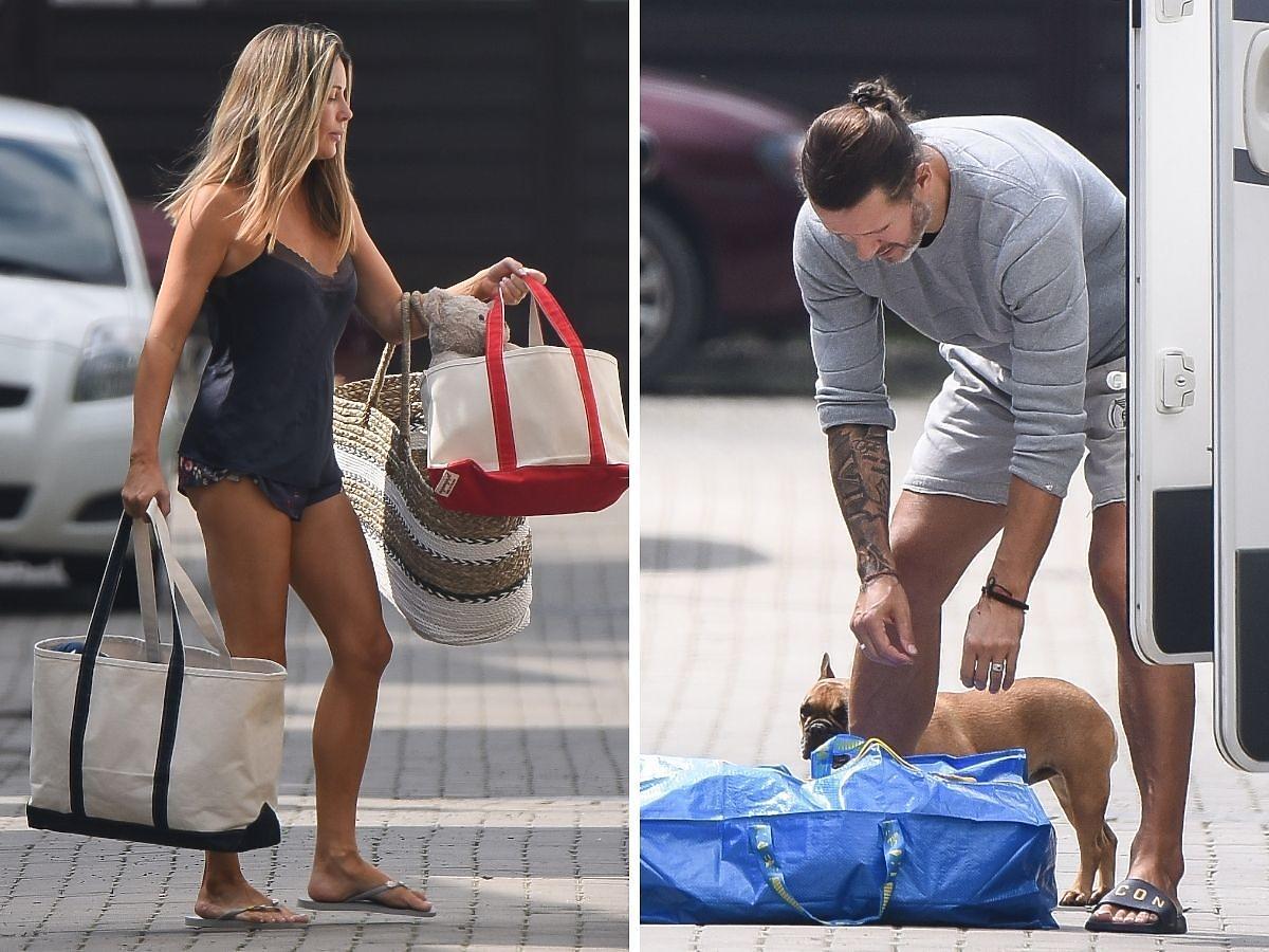Małgorzata Rozenek i Radosław Majdan pakują się na wakacje